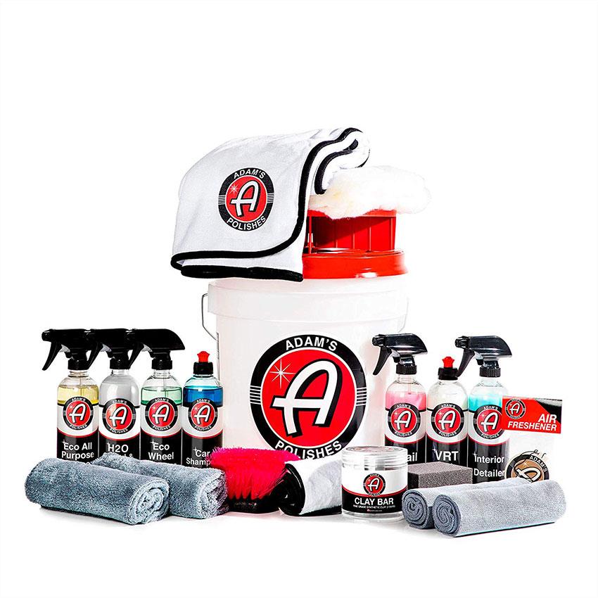 Adam's Essentials Complete Car Detailing Upgraded Kit