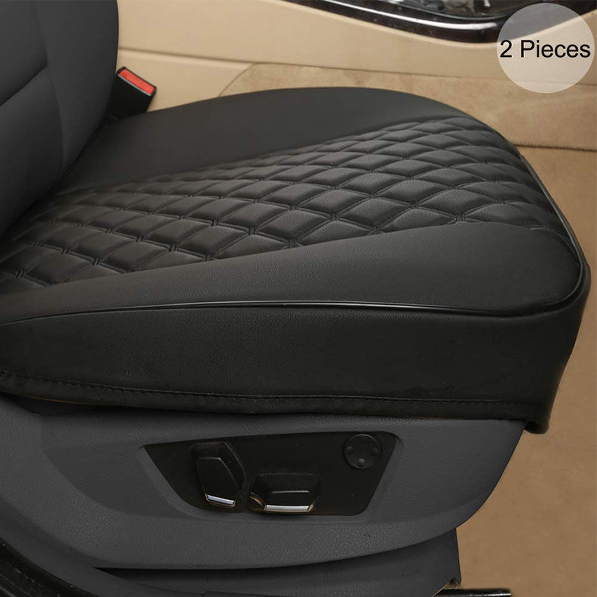 Black Panther PU Car Seat Covers, Front Seat Protectors