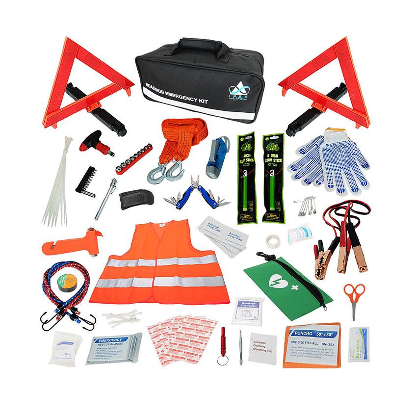 INEX Life Car Emergency Roadside Assistance Kit