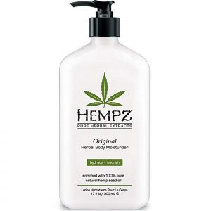 Hemp-Based Body Lotion