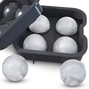 Round Whiskey Ice Molds