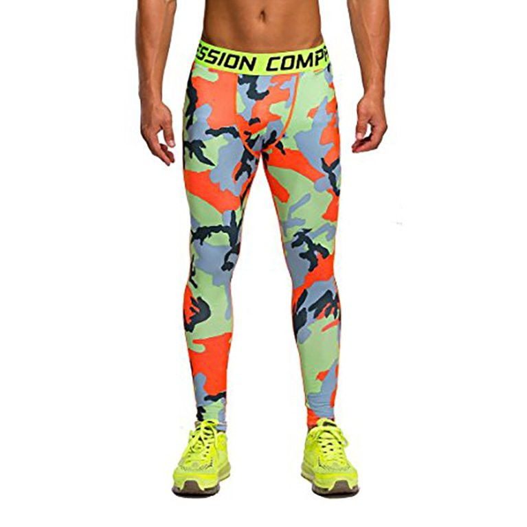 Arciton Men's Professional Compression Tight Pants Base Layer Running Leggings