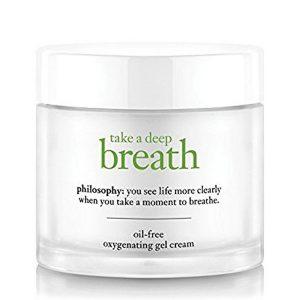 Take a deep breath face moisturizer