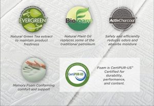 Zinus Memory Foam 6 Inch Green Tea Mattress-2