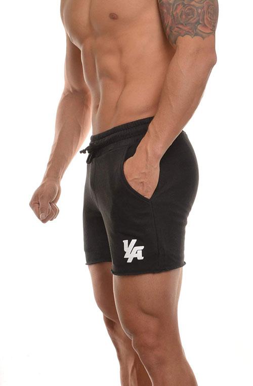 YoungLA Men's Bodybuilding Gym Workout Shorts
