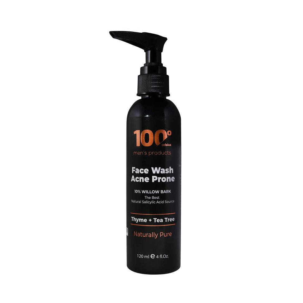 100° Celsius Men's Products Face Wash Acne-Prone