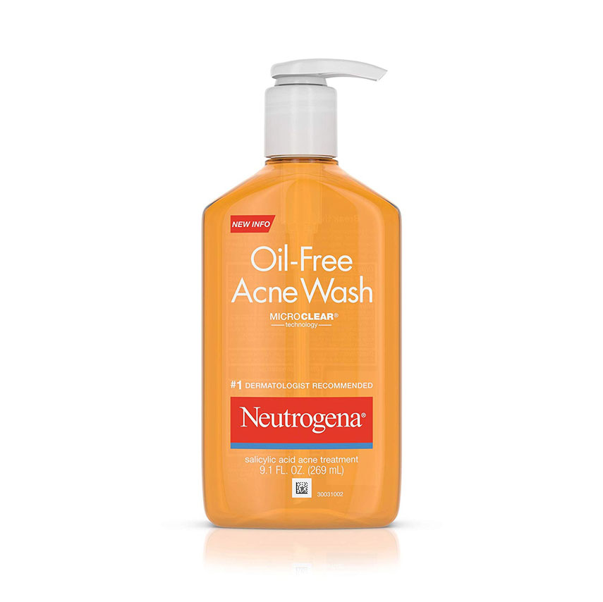 Neutrogena Oil-Free Acne-Fighting Facial Cleanser with Salicylic Acid