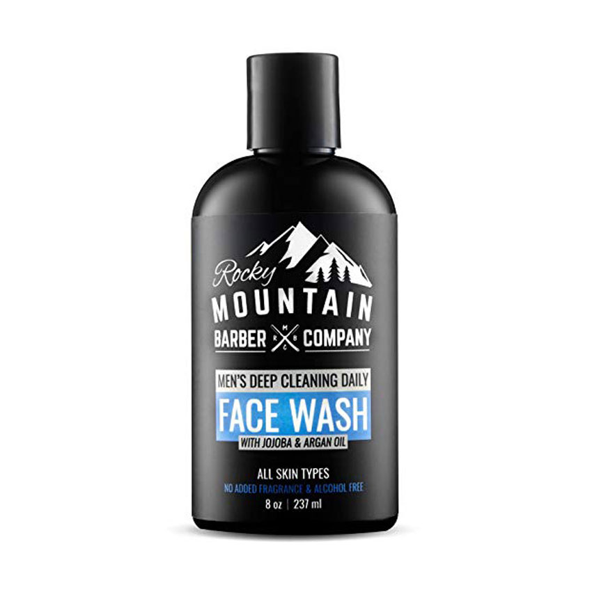 Rocky Mountain Barber Company Men's Deep Cleaning Daily Face Wash